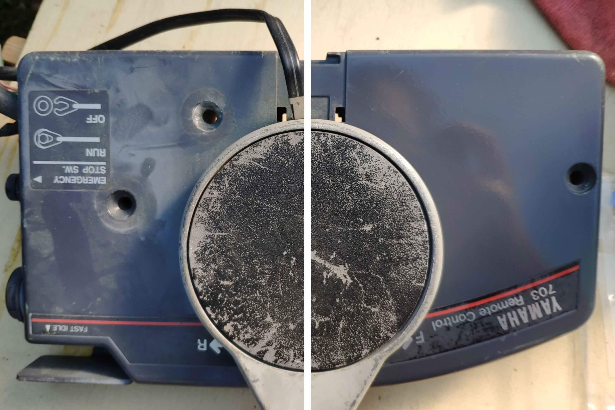 polish manette des gaz latitude nautique